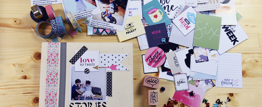 Scrapbooking workshops by Sophia Kontouka