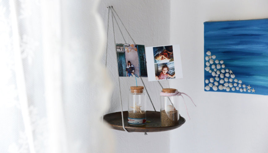1 + 1 τρόποι να φτιάξετε μόνοι σας διακοσμητικά με φωτογραφίες
