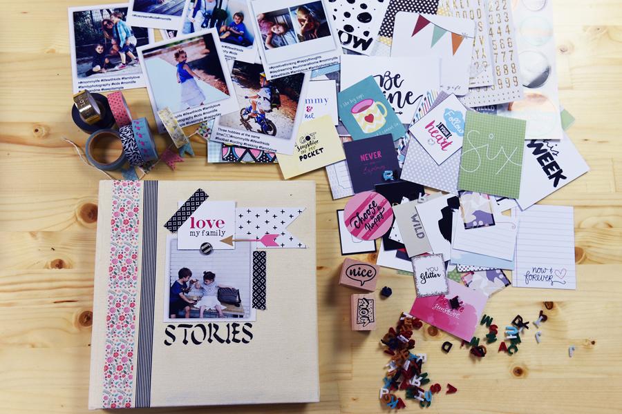 Scrapbooking workshops by Sophia Kontouka